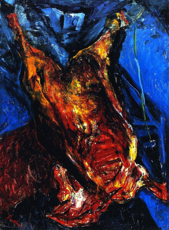 Хаим Сутин «Туша говядины»
