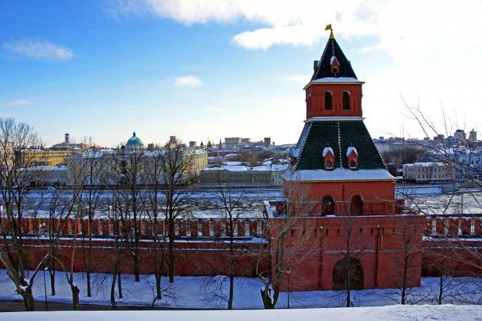 Москва Тайницкая башня