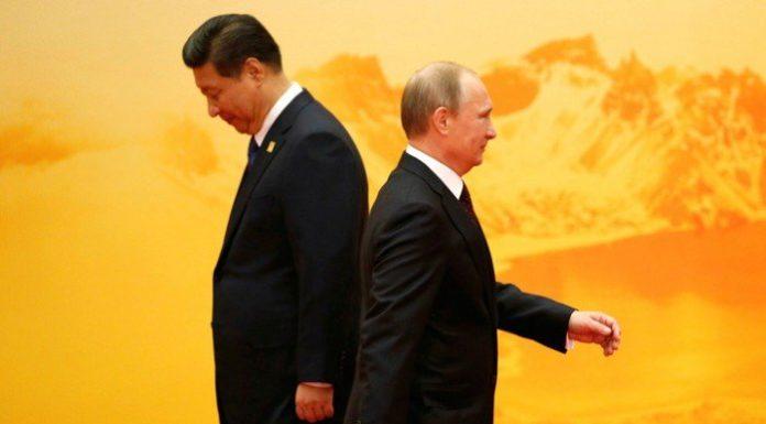 Путин и президент Китая