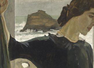 Валентин Серов. Портрет Марии Цетлиной. 1910.