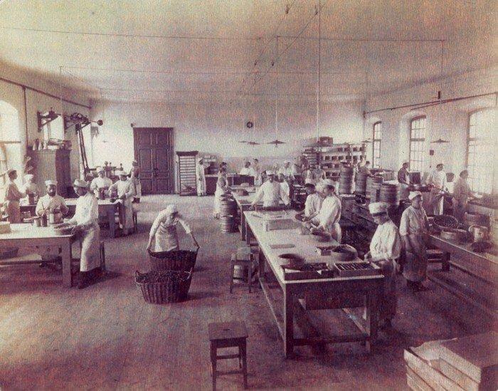 на фабрике Бабаевский