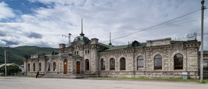 вокзал Слюдянка-1