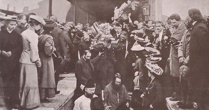 Chekhov_funeral