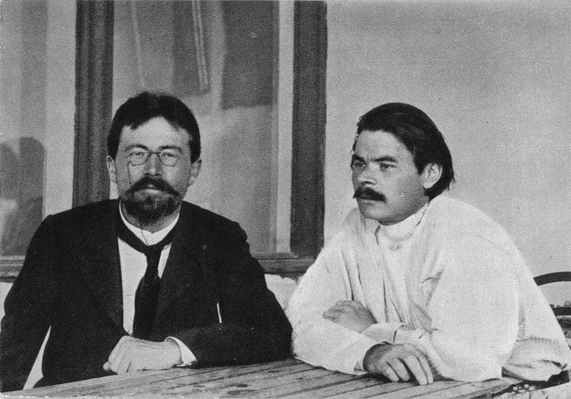 gorky_and_chekhov