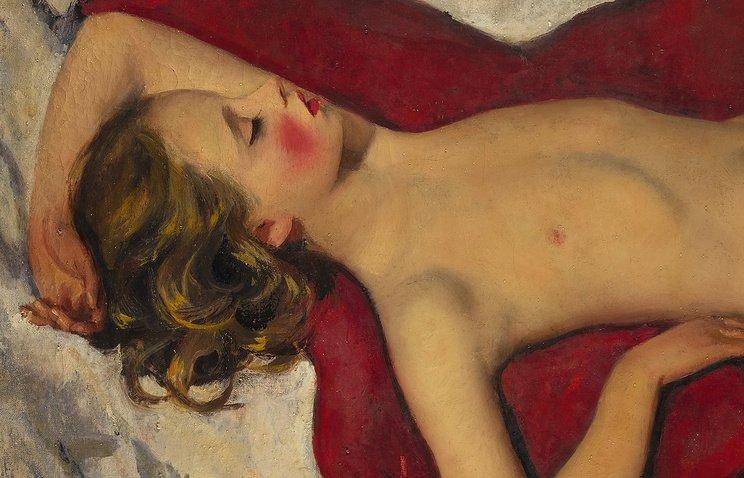 Зинаида Серебрякова, «Спящая девочка»