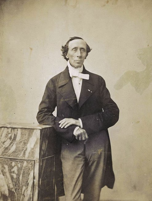 Hans Christian Andersen, photograph