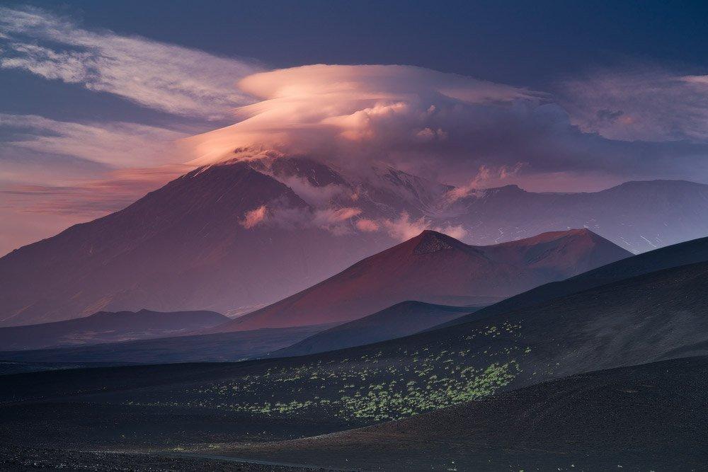 Russia, Kamchatka, Kluchevskoy park