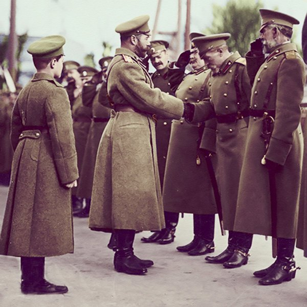 the_emperor_with_his_son_and_the_army_officers_by_kraljaleksandar-d6e1rvn