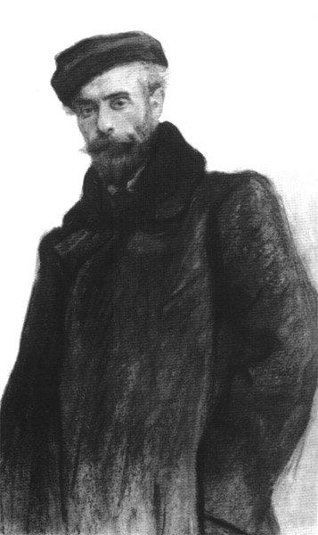 levitan-serov-portrait