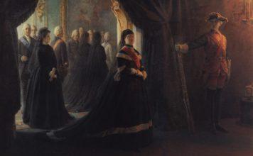 ekaterina-ii-u-groba-imperatritsy-elizavety-1874