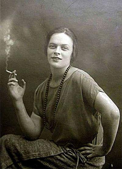 Татьяна Пельтцер, 1920-е годы