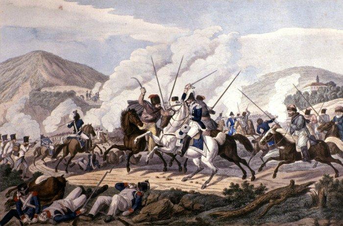 plenenie-marshala-vandama-kazakami-v-srazhenii-pod-kulmom-30-avgusta-1813-g-raskrashennaya-gravyura-karla-ralu-po-ris-i-a-klejna