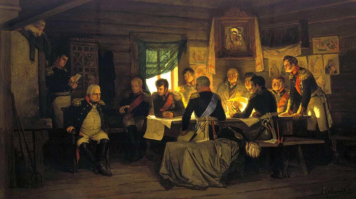 sovet-v-filyah-1-sentyabrya-1812-hudozhnik-aleksej-kivshenko-1880