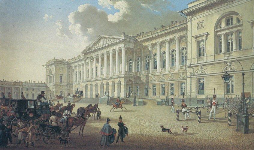 Mihajlovskij-dvorets-1832