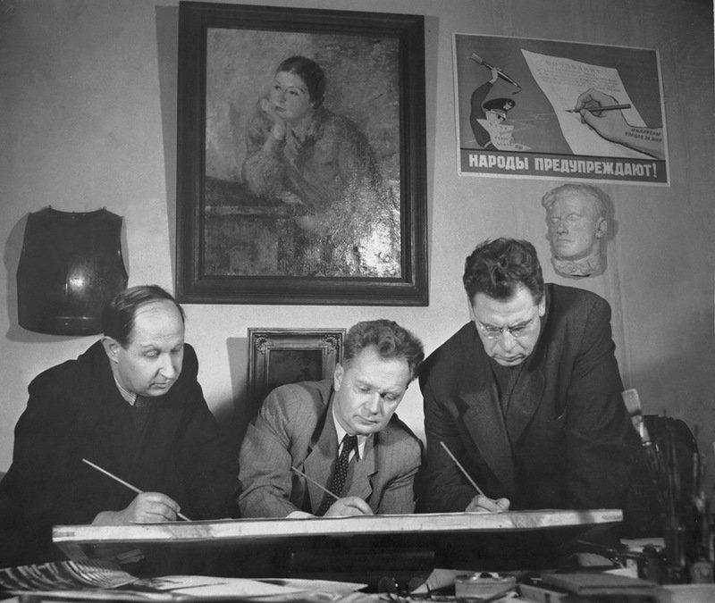 KUpriyanov-KRYlov-i-NIKolaj-Sokolov