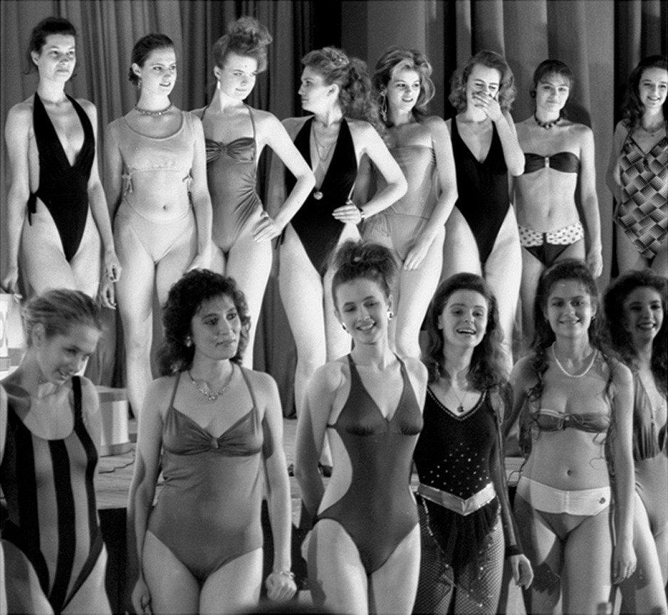 Конкурс ленинградская красавица 1989