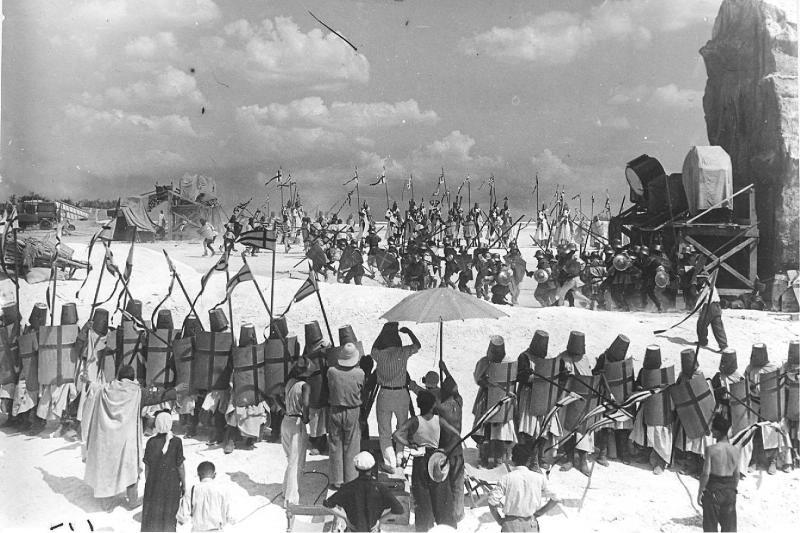 Съемки Александра Невского