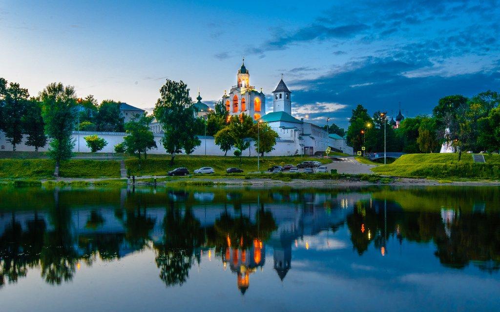 Spaso-Preobrazhenskij-monastyr-v-YAroslavle, Ярославль