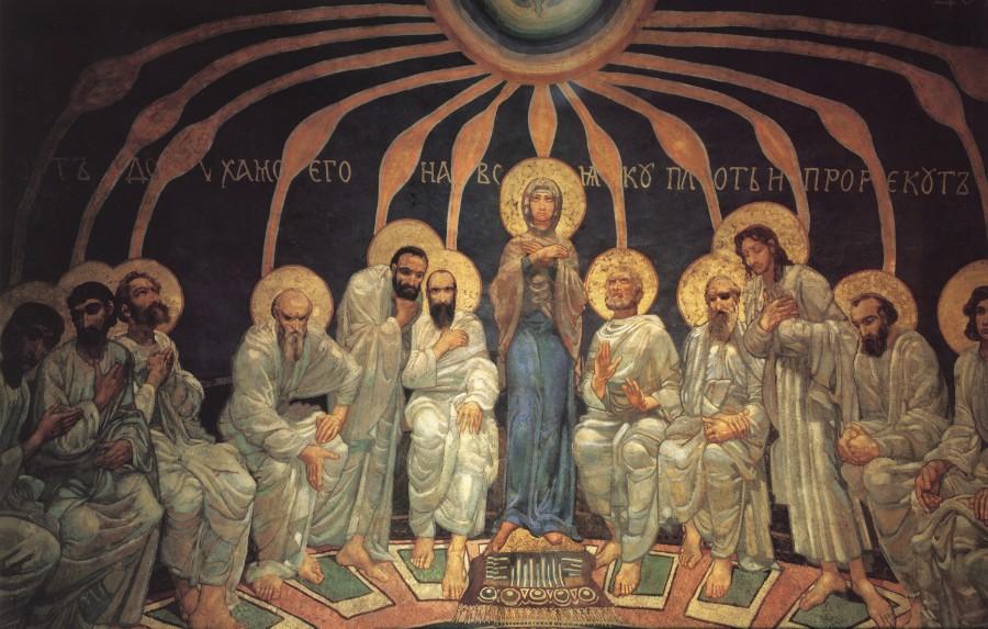 Soshestvie-Svyatogo-Duha-na-apostolov.-1885