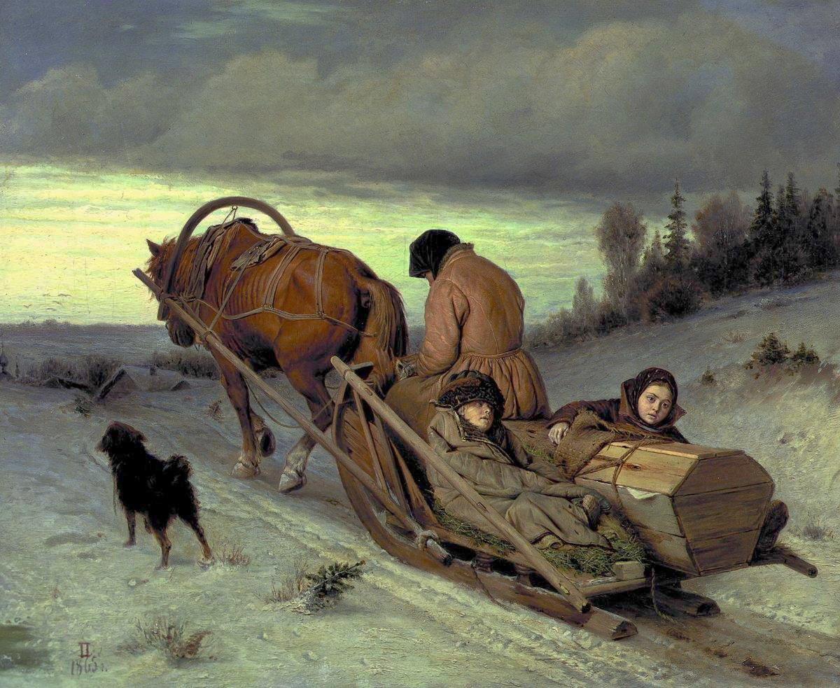 Provody-pokojnika-1865-Vasilij-Perov