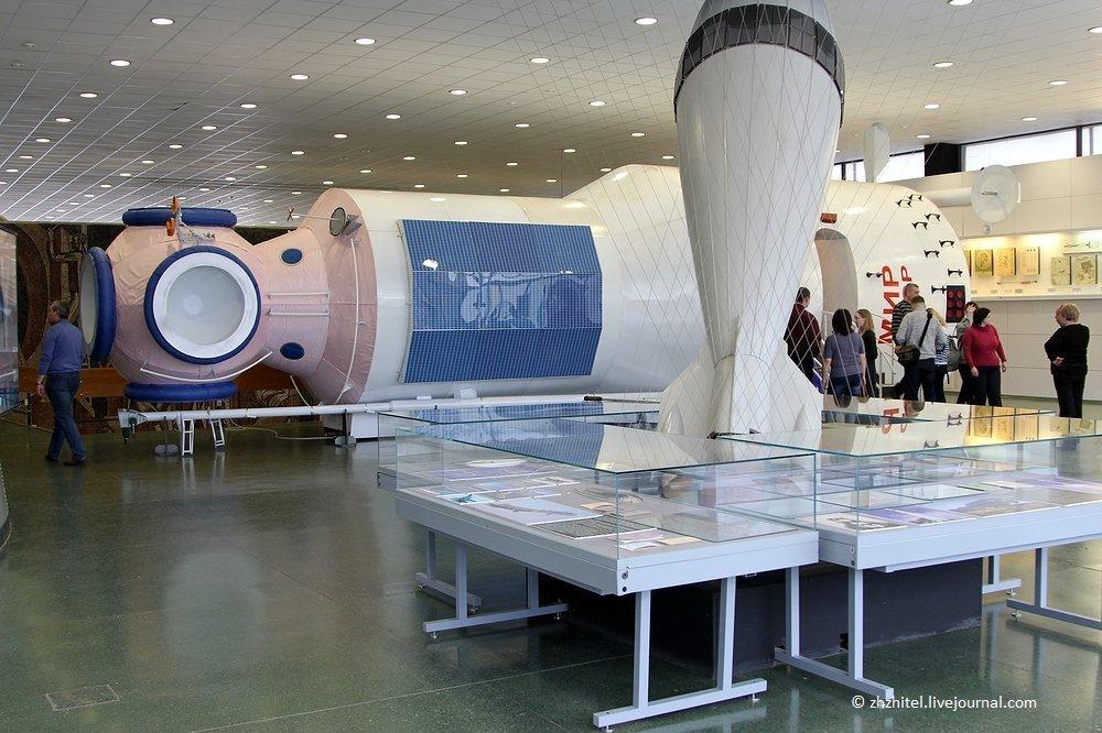 Орбитальная станция «Мир», макет. Фото: Alexander