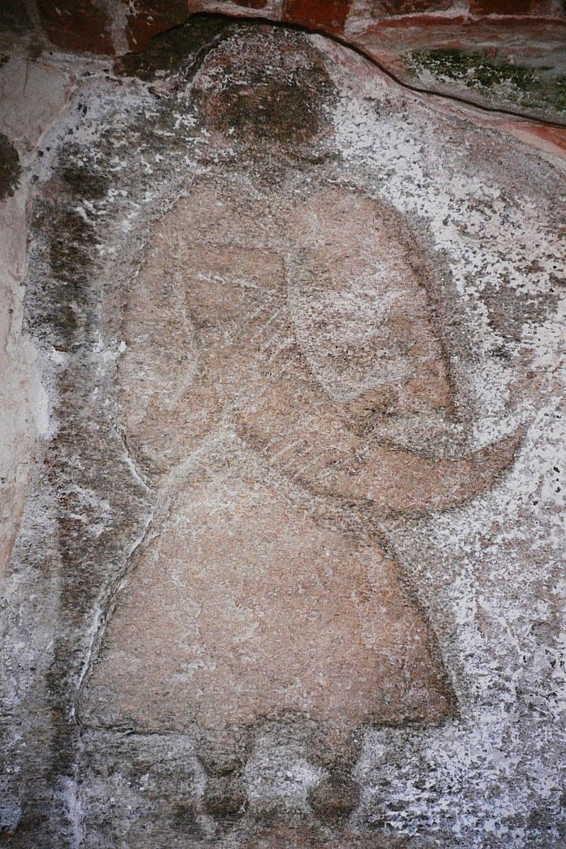 Kamen-Svantevita-v-tserkvi-Altenkirhen-na-ostrove-Ryugen
