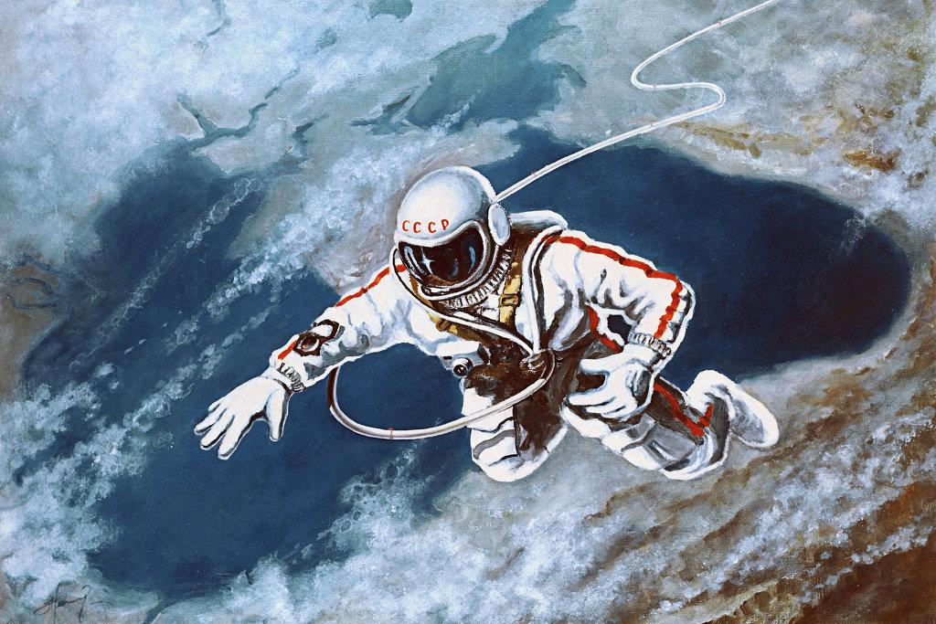 картинки леонова выход в открытый космос вьетнам заинтересованы