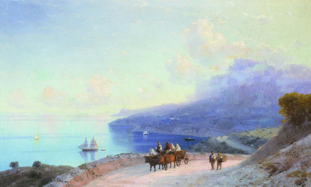 Krymskoe-poberezhe-u-Aj-Petri.-1890