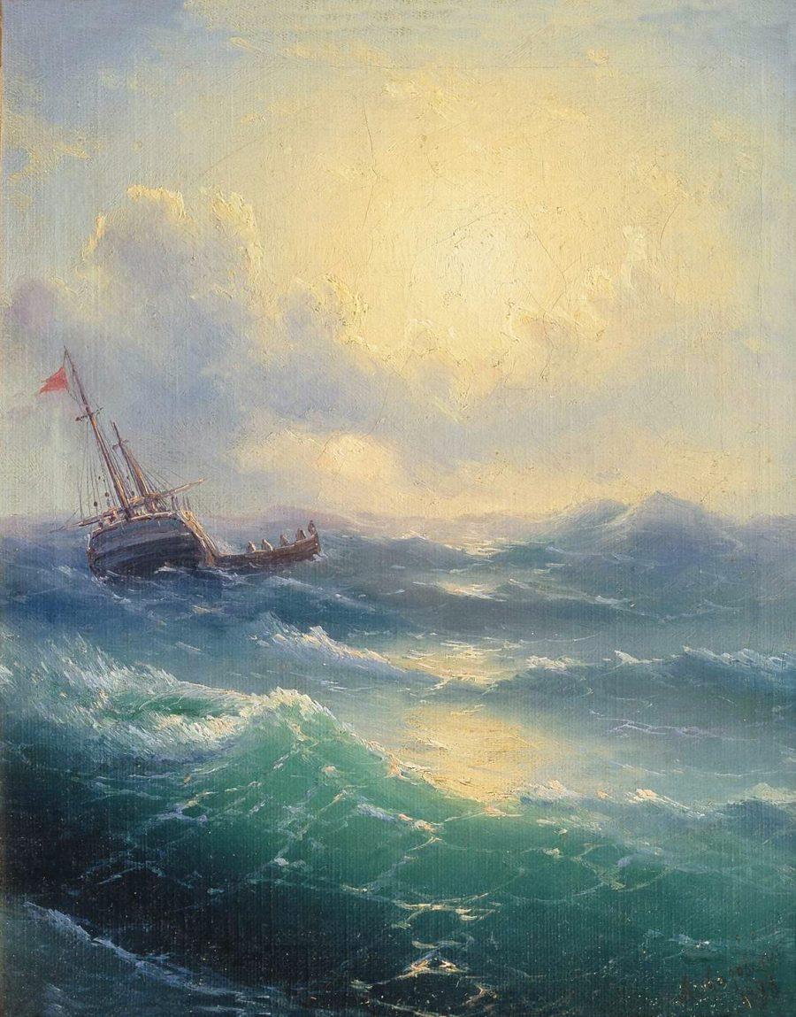 Иван Айвазовский - самая дорогая картина, секретные краски и другие любопытные факты