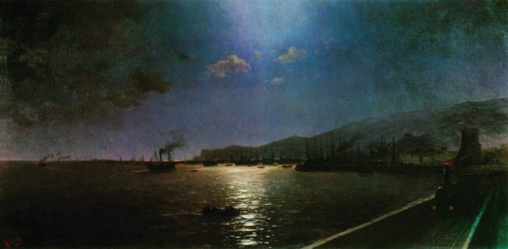 Pervyj-poezd-v-Feodosii.-1892