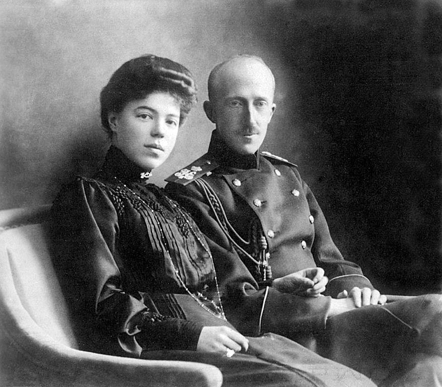 Pyotr-Aleksandrovich-Oldenburgskij-i-Knyaginya-Olga-Aleksandrova
