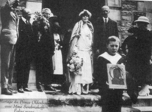 Svadba-printsa-Petra-Aleksandrovicha-Oldenburgskogo-i-Olgi-Serebryakovoj.-Biarrits.-1922