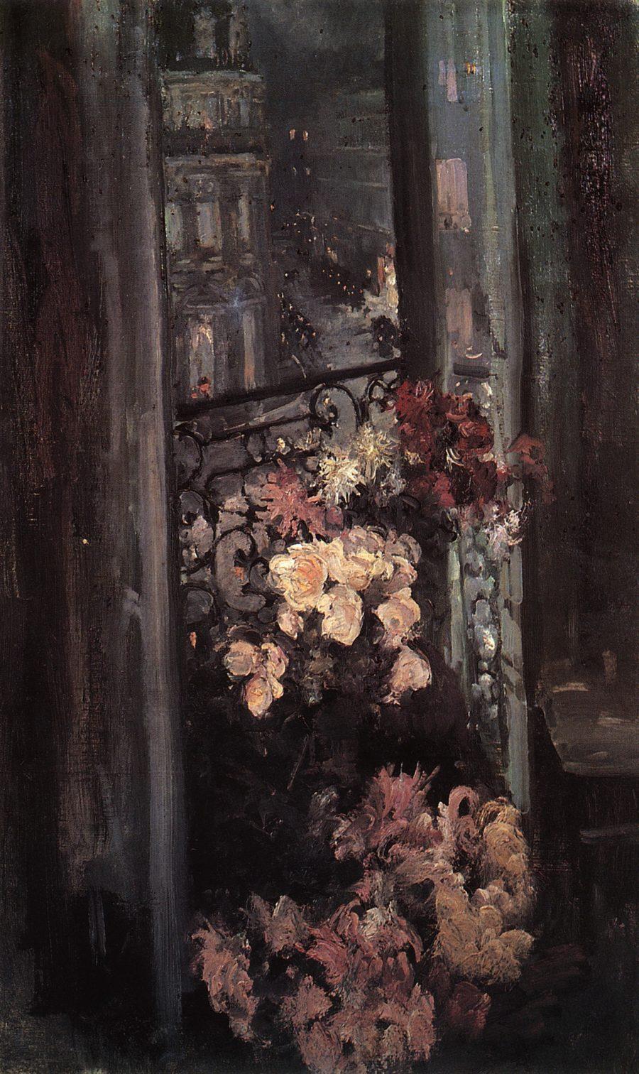 Terrasa.-Parizh.-1908