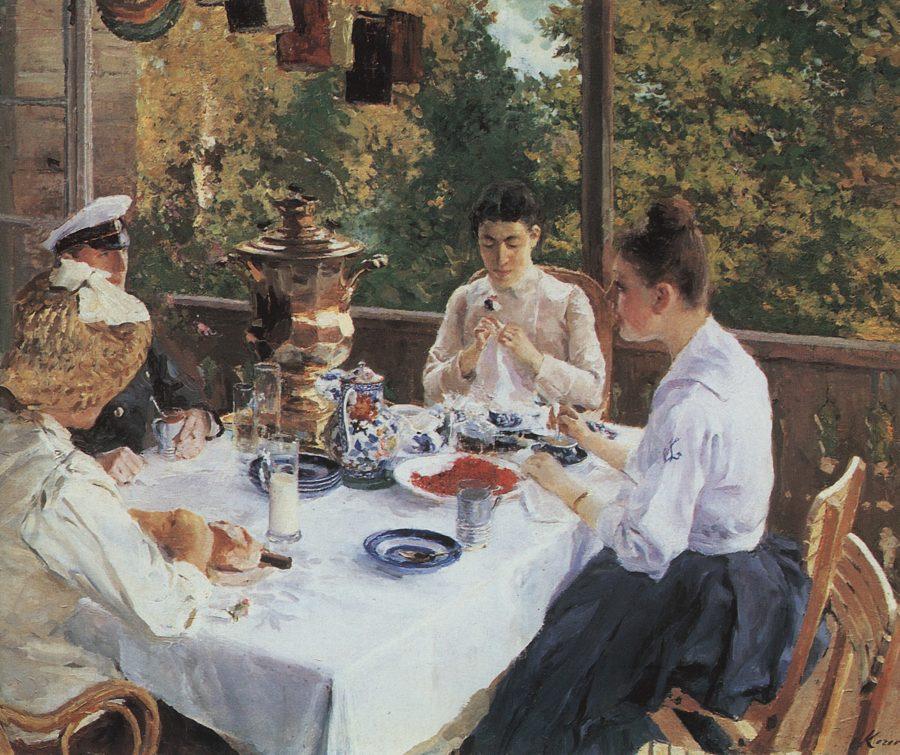Za-chajnym-stolom.-1888