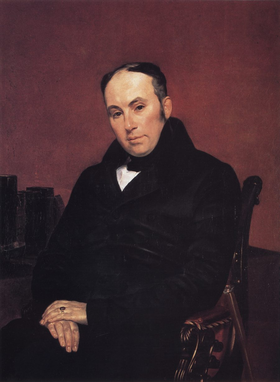 Portret-poeta-V.A.ZHukovskogo.-1837