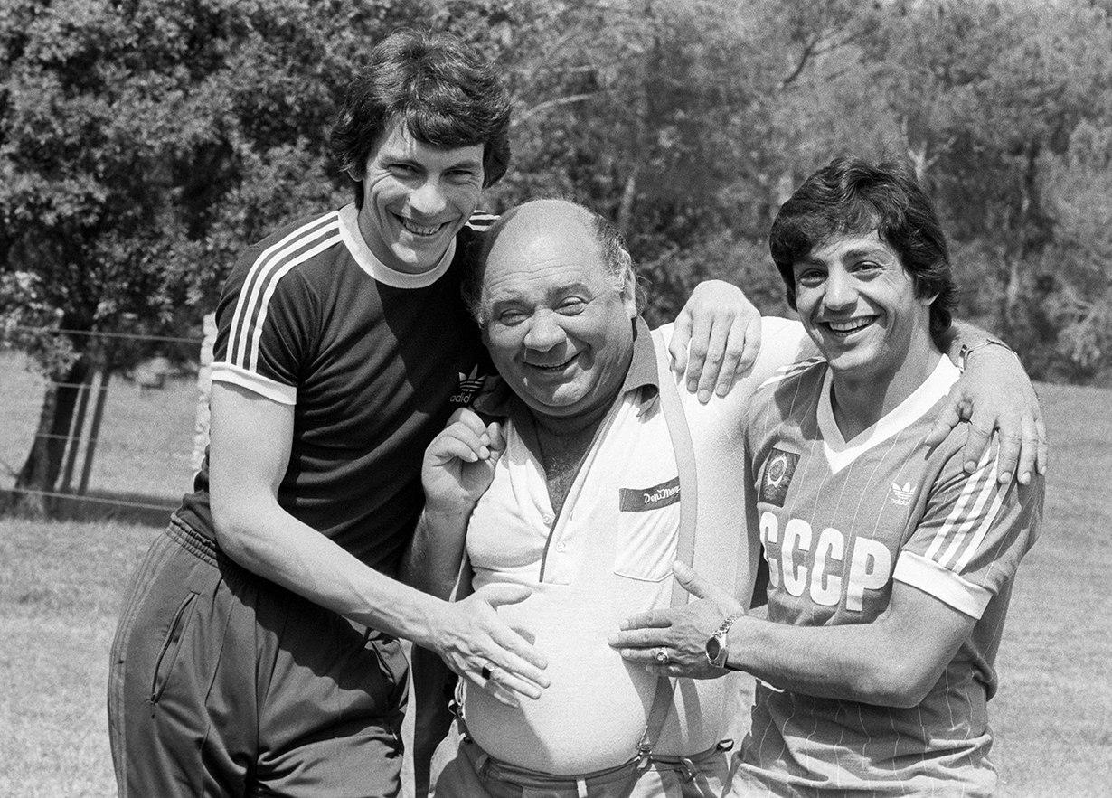Rinat-Dasaev-Evgenij-Leonov-i-Horen-Oganesyan-1982