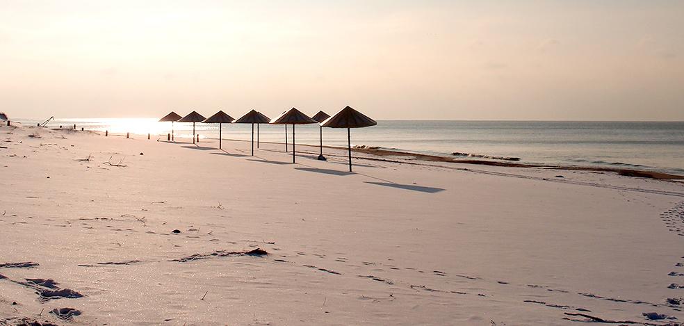 Пляж пансионата лазаревское 46