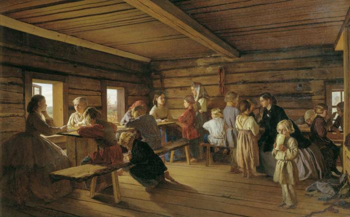 Selskaya-besplatnaya-shkola.-1865