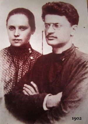 Aleksandra-Lvovna-Sokolovskaya-pervaya-zhena-Trotskogo