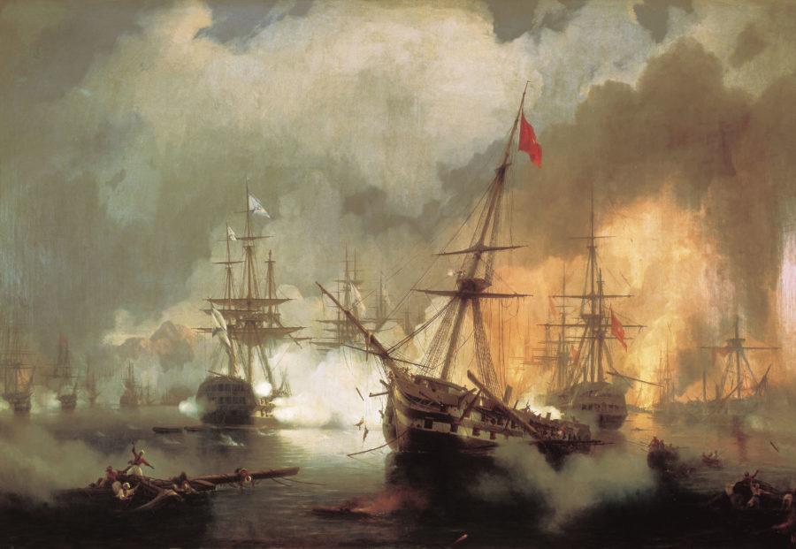 Morskoe-srazhenie-pri-Navarine-2-oktyabrya-1827-goda.-1846