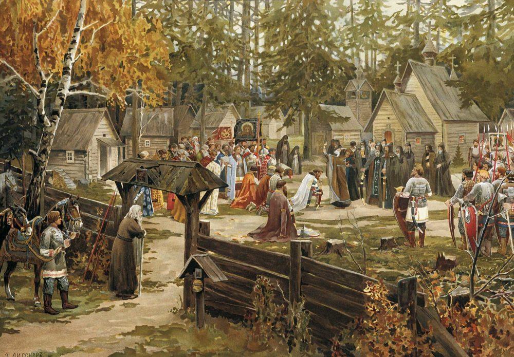 Sergij-Radonezhskij-i-Dmitrij-Donsko