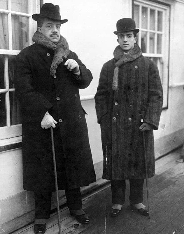 Леонид Мясин и Сергей Дягилев
