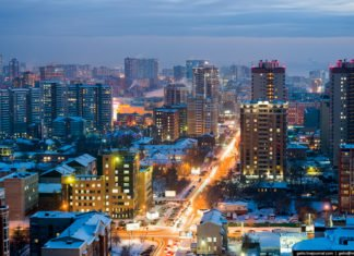 Новосибирск зима