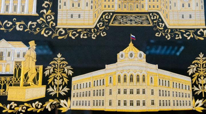 Пушкин в Торжке