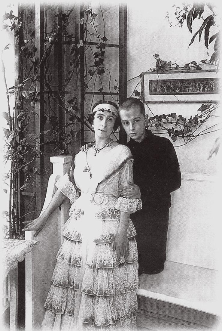Матильда с сыном Владимиром