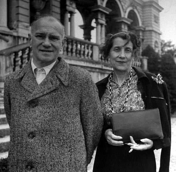 Вацлав Нижинский с женой