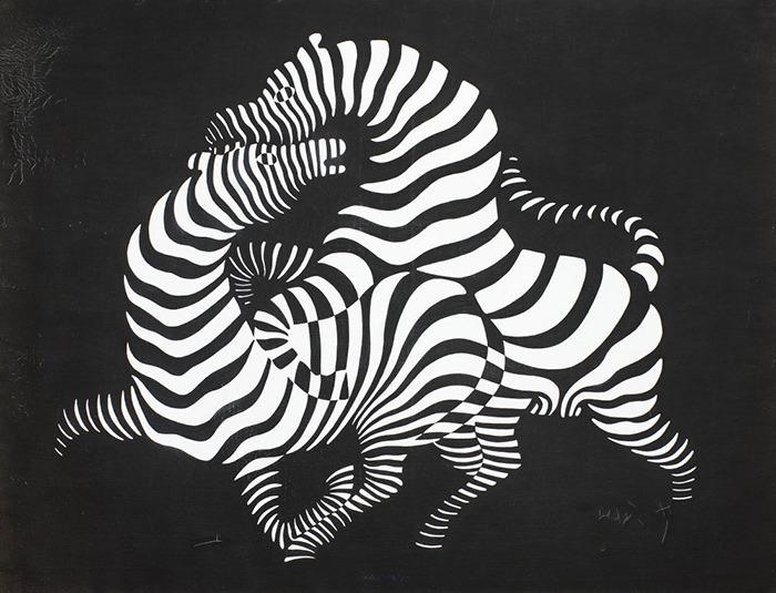 Виктор Вазарели, «Зебры», 1950 г.