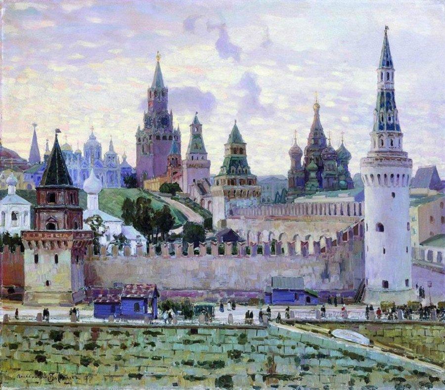 Apollinarij-Mihajlovich-Vasnetsov.-Moskovskij-Kreml.-1897