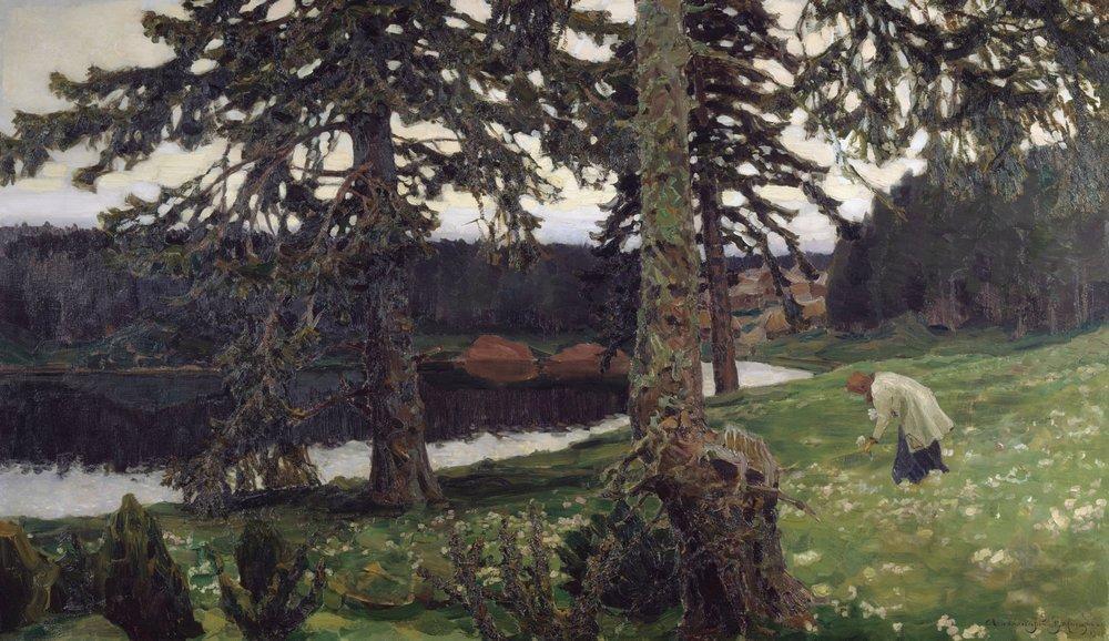 Ozero.-1902