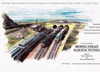 Из России в США — тоннель, соединяющий континенты